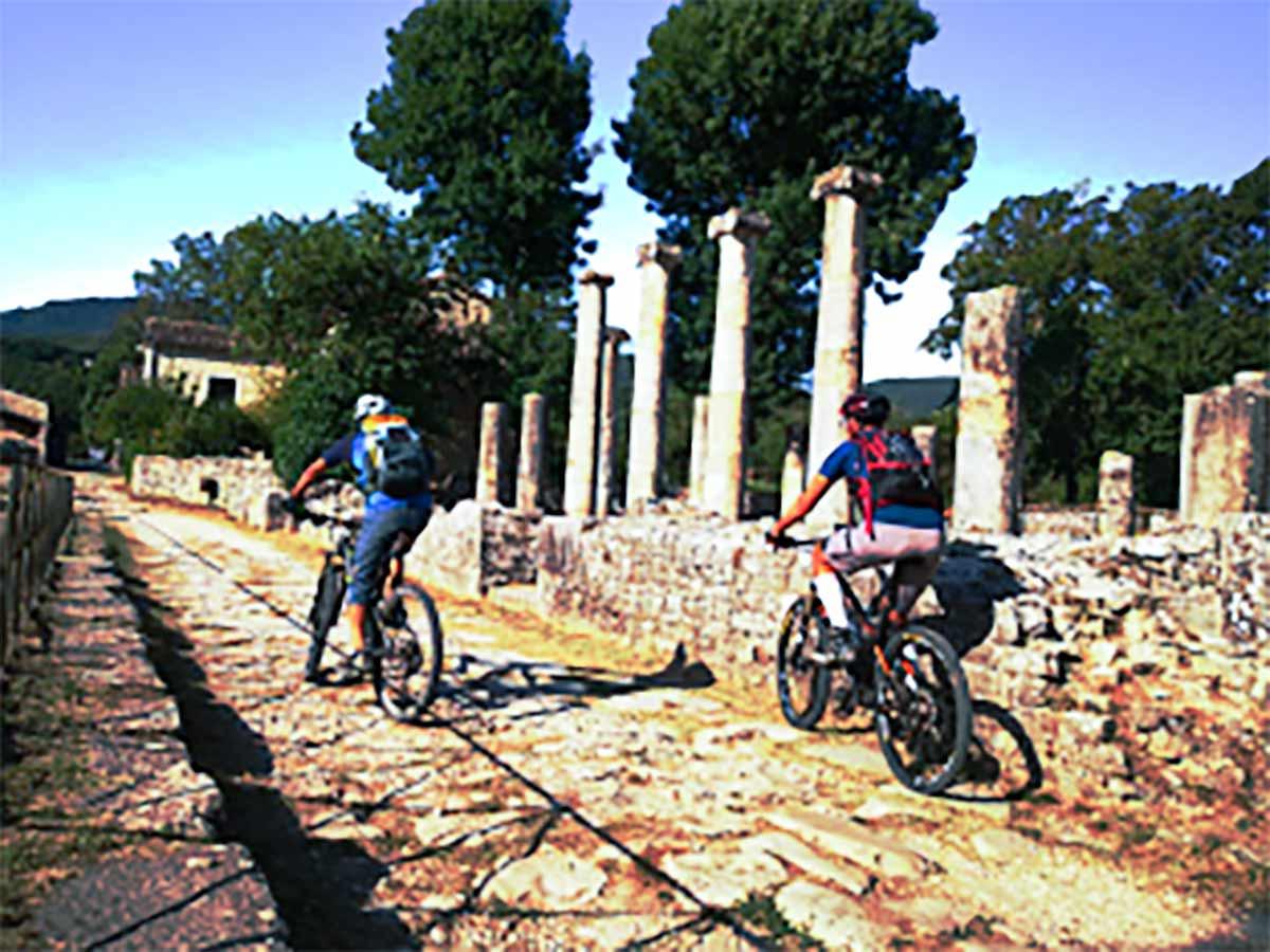 cicloescursione Sepino - San Marco la Catola
